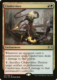 Cindervines <planeswalker stamp> [RNA]