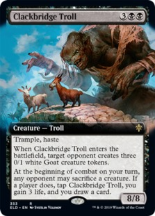 Clackbridge Troll