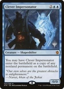Clever Impersonator <planeswalker stamp> [PTHB]