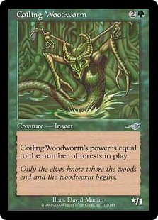 Coiling Woodworm [NE]