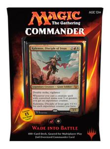 MTG COMMANDER 2015 Deck Red//White Wade into Battle