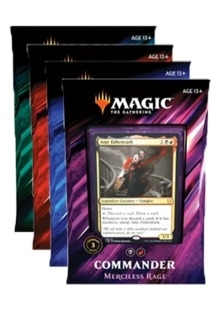 Commander 2019 Gold Rare NM Gift of Doom