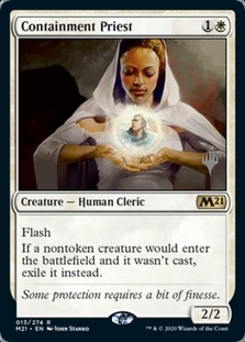 Containment Priest <planeswalker stamp> [M21]