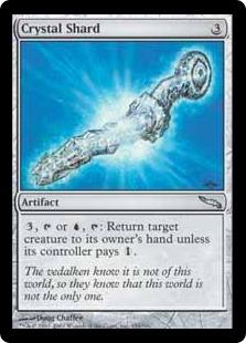 Magic MTG Excellent+ Crystal Shard ~ Mirrodin