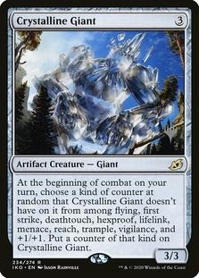 Crystalline Giant <planeswalker stamp> [IKO]