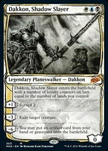 Dakkon, Shadow Slayer <showcase> [MH2]