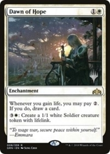Dawn of Hope <planeswalker stamp> [PTHB]