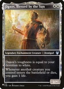 Daxos, Blessed by the Sun <showcase> [PLIST]