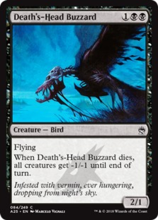 Death's-Head Buzzard [A25] (F)