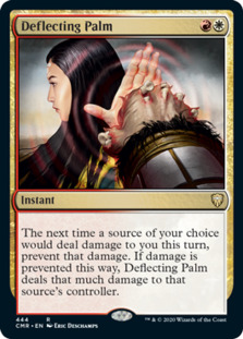 Deflecting Palm