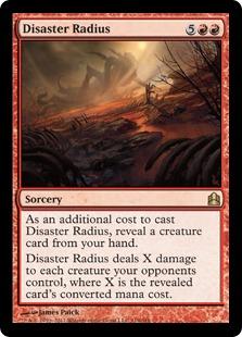 Disaster Radius