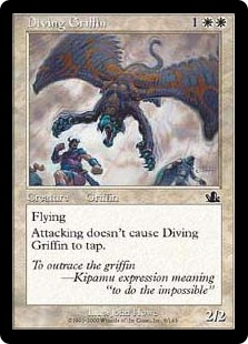 Diving Griffin [PR]