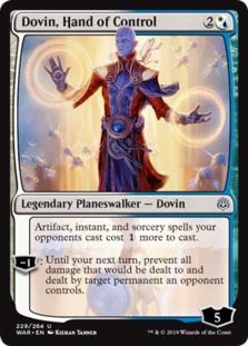 Dovin, Hand of Control [WAR]