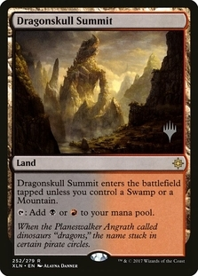 Dragonskull Summit <planeswalker stamp> [XLN] (F)