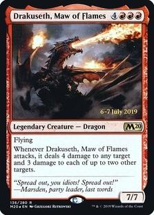 Drakuseth, Maw of Flames <prerelease> [M20] (F)