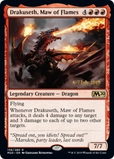 Drakuseth, Maw of Flames [PRM-PRE] (F)