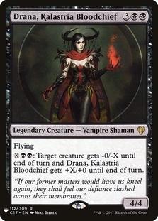 Drana, Kalastria Bloodchief
