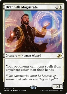 Drannith Magistrate <planeswalker stamp> [IKO]