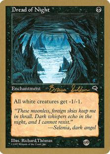 Dread of Night <Brian Selden - SB> [WC98]