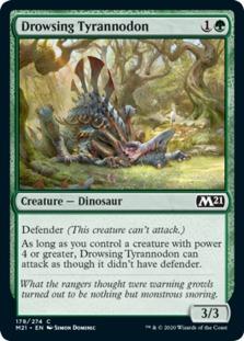 Drowsing Tyrannodon [M21]