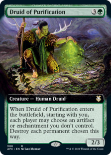Druid of Purification <extended> [AFC]