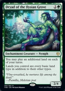 Dryad of the Ilysian Grove <planeswalker stamp> [PTHB]