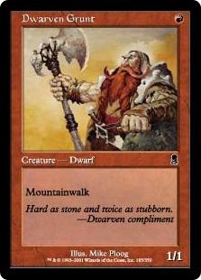 Dwarven Grunt [OD]