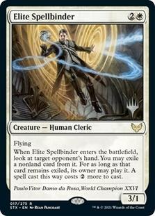 Elite Spellbinder <planeswalker stamp> [STX]