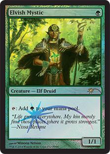 Elvish Mystic [PRM-FNM] (F)