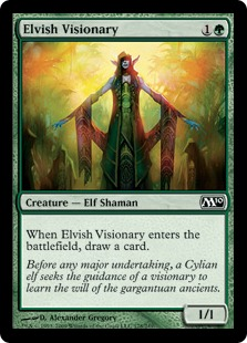 Elvish Visionary [M10] (F)