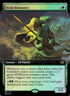 Elvish Warmaster [PRM]