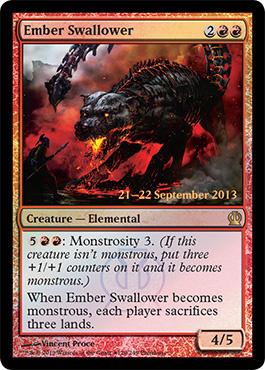 Ember Swallower [PRM-PRE] (F)