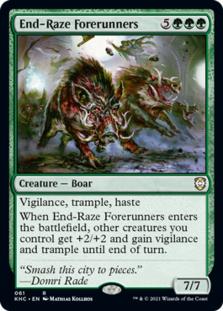 End-Raze Forerunners [KHC]