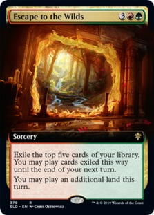 Escape to the Wilds <extended> [ELD]
