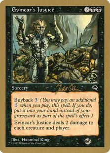 Evincar's Justice <Jakub Slemr - SB> [WC99]