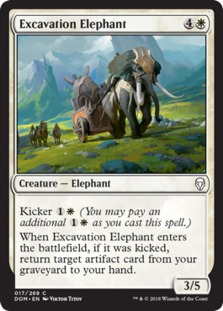 Excavation Elephant