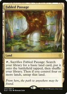 Fabled Passage <planeswalker stamp> [ELD]