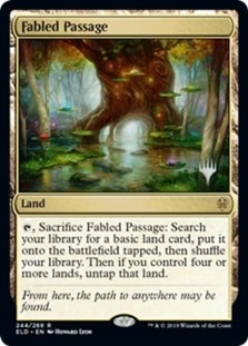 Fabled Passage <planeswalker stamp> [PELD]