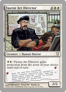 Fascist Art Director [UNH]