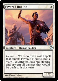 Favored Hoplite