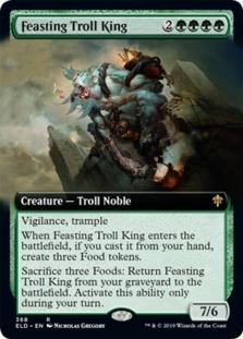 Feasting Troll King <extended> [ELD]