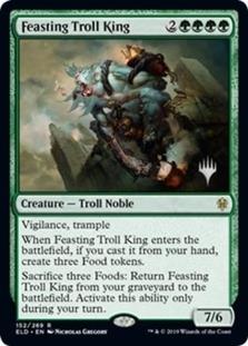 Feasting Troll King <planeswalker stamp> [PELD]