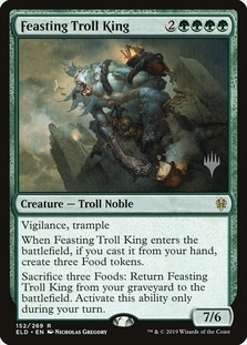 Feasting Troll King <planeswalker stamp> [PTHB] (F)