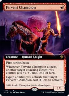Fervent Champion <extended> [ELD]