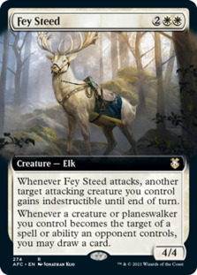 Fey Steed <extended> [AFC]