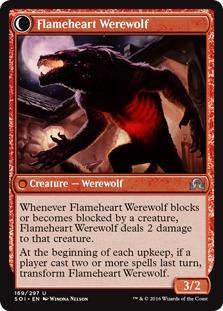 Flameheart Werewolf