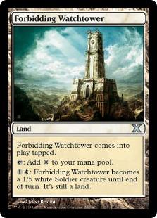 Forbidding Watchtower