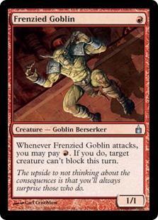 Frenzied Goblin [RAV] (F)