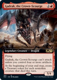 Gadrak, the Crown-Scourge <extended> [M21]
