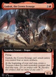 Gadrak, the Crown-Scourge [PRM] (F)